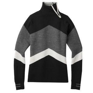 Smartwool Sweaters - Smartwool Dacono Ski Funnel Neck Sweater Black